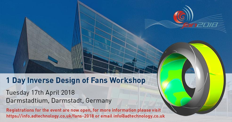 advanced design technology  inverse design fan workshop 2018